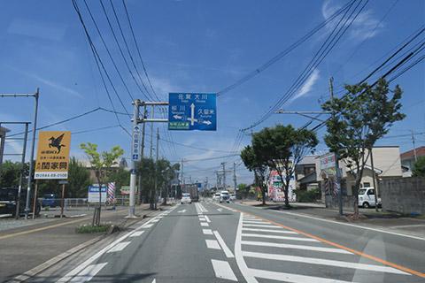 西鉄八丁牟田駅(柳川方面)ルート2